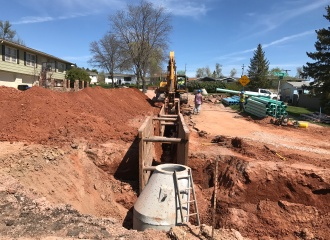 Baldwin Street Reconstruction - Construction Related Services