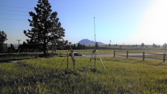 Survey Equipment Bear Butte