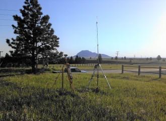 Survey Equipment Bear Butte